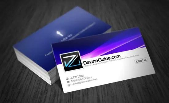 Free Modern Business Card