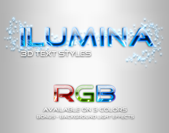 Ilumina Glowing Text Styles