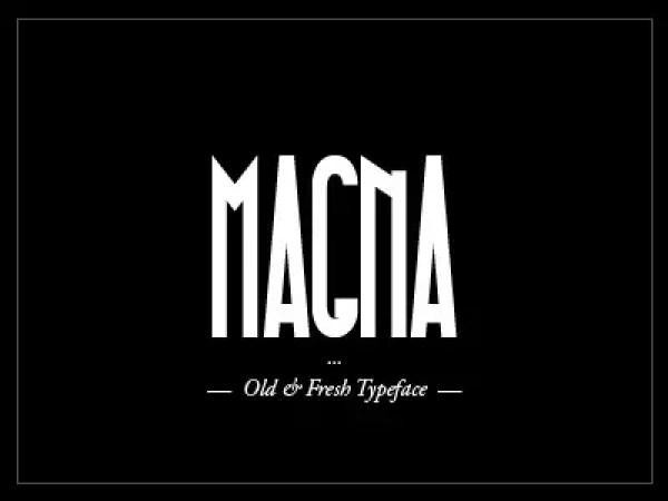 Magna font