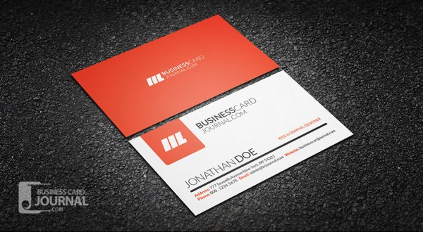 Simple & Clean Creative Business Card Template