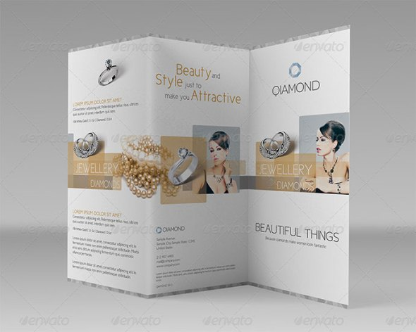 Commercial Tri-fold: Luxury items