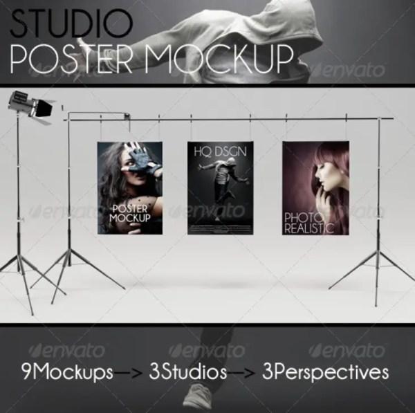 Poster Mockup Studio