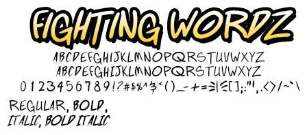 Fighting Wordz