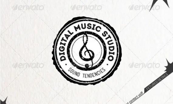 Digital Music Studio Logo
