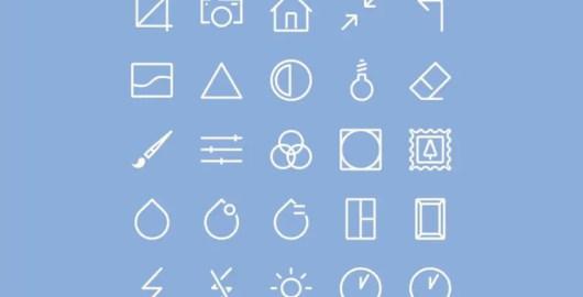 Free PSD & AI Image Editing Icons Set