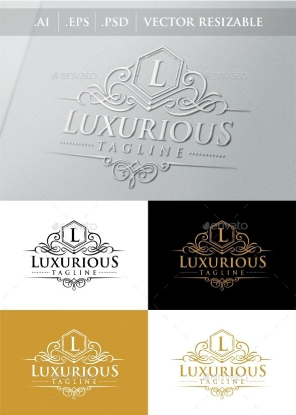 Luxurious Royal Logo