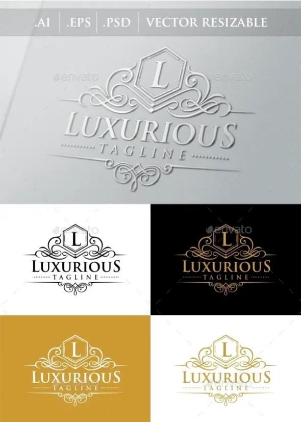 Luxurious Royal Logo