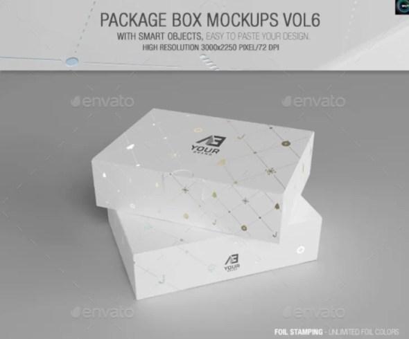Package Box Mockups Vol6