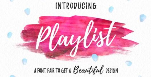 Playlist Font - Free Download