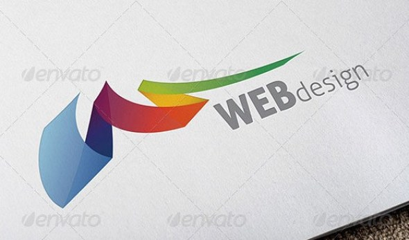 Web Design Colorful Logo