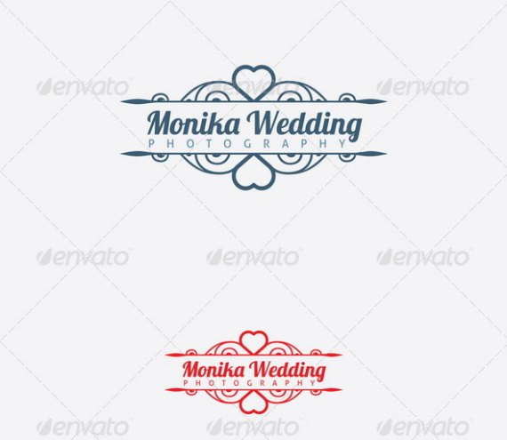 Wedding Photography Logo Template