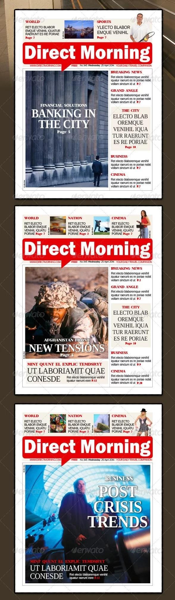 48 Pages Metro Newspaper Bundle