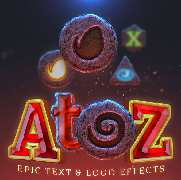 AtoZ: Epic Text & Logo Effect