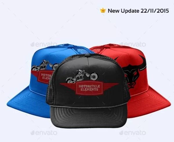 Baseball Hat Mockup V1