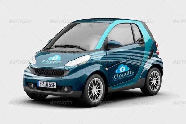 Car Branding Mockup V2