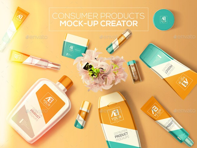 Consumer Products Mockup