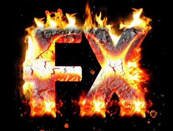Fire Burn & Lava Style