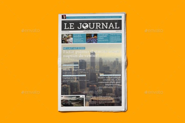 InDesign Newspaper Template 5 Columns