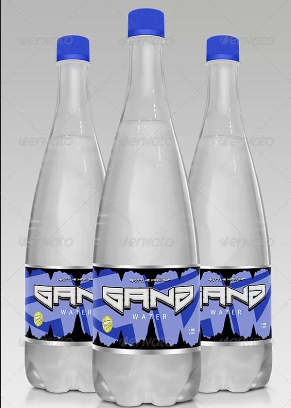 Juice Bottle Mockup Vol. 2