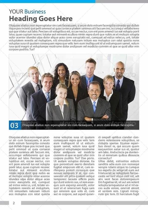 Multipurpose Business Newsletters