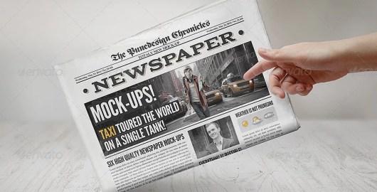 Newspaper Mockups v3