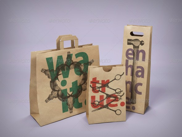 Paper Bag Mockup Pack