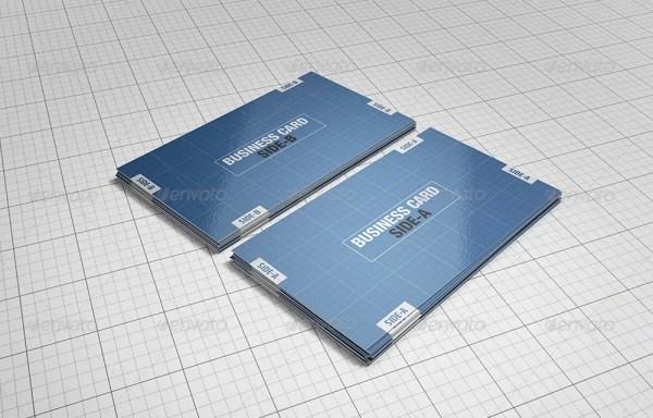 Premium Business Cards Mockups