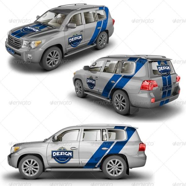 SUV Crossover Mockup