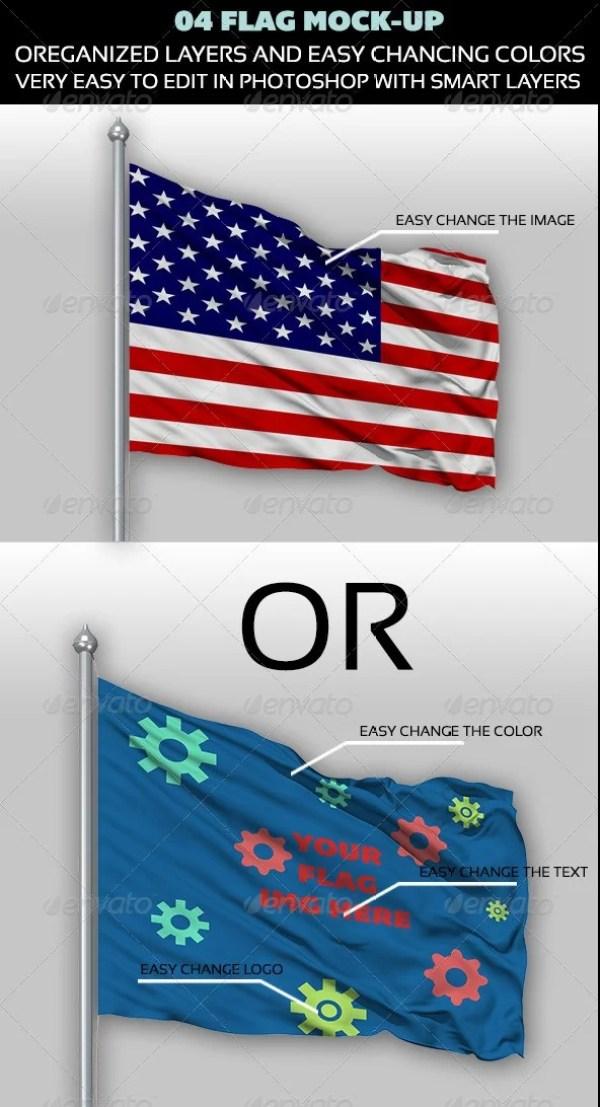 04 Flag Mock-up