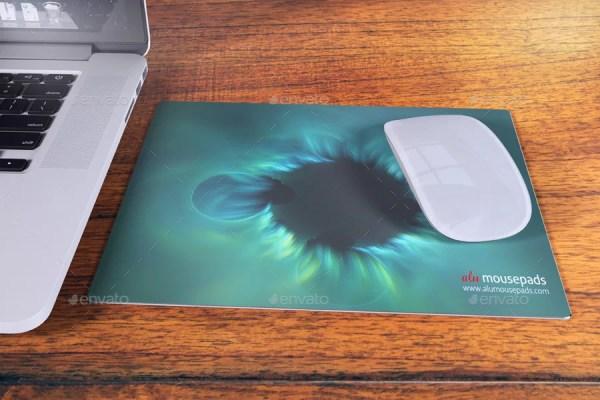 Aluminium Mousepad Mockup