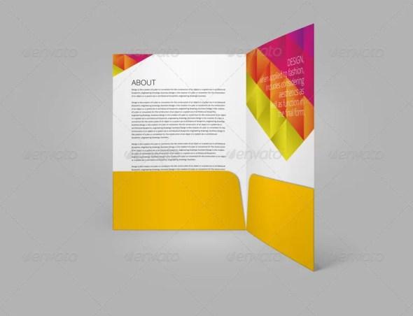 Company Folders Mockups