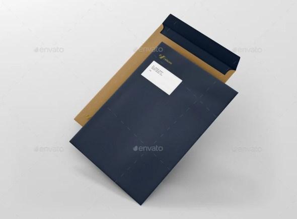 Envelope C4 Mockups