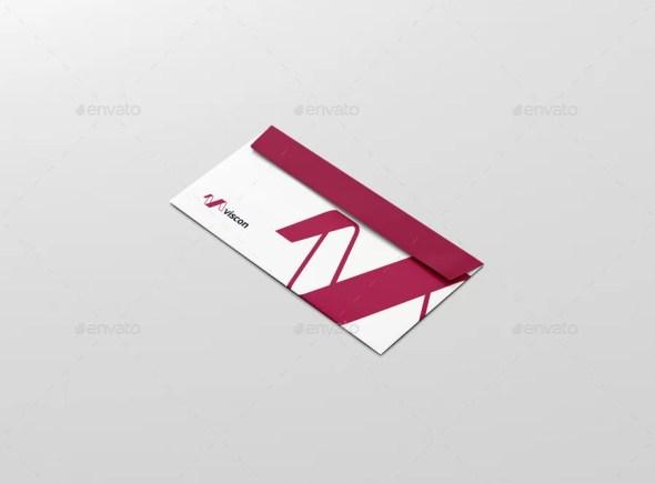 Envelope C5 / 6 Mockup