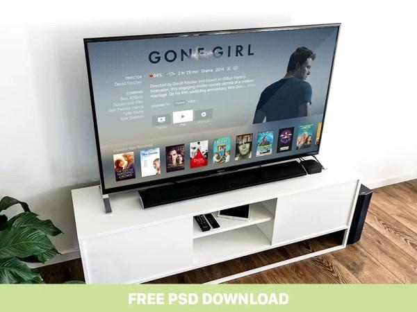 Free Apple TV Mockup