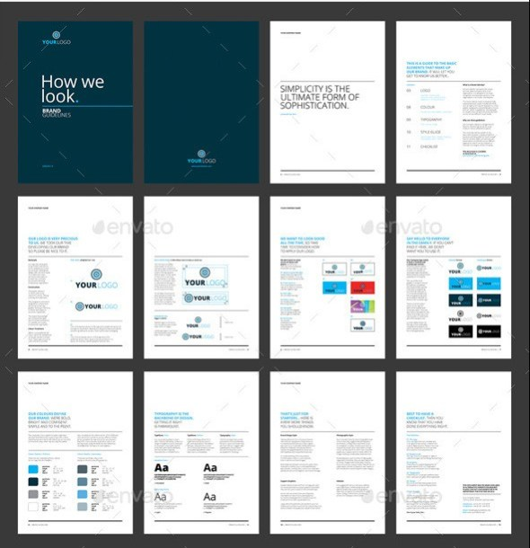 23 best brand guidelines templates psd indesign download how we look brand guidelines maxwellsz