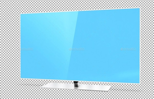 Smart TV 60 inch F7000 Smart Evolution Mockup