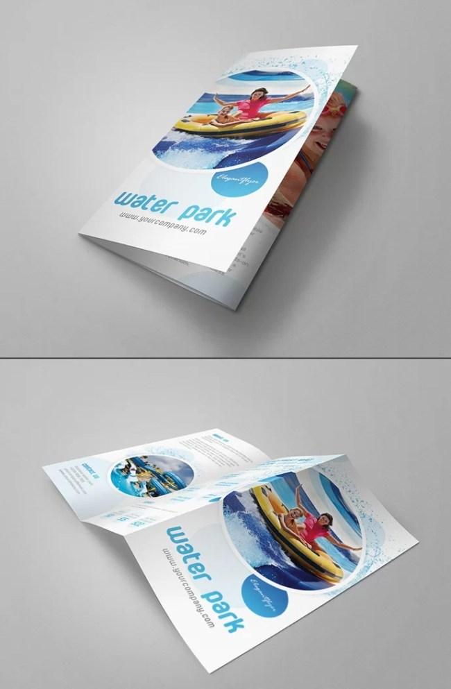 5 Free Tri-Fold Brochure Mockups