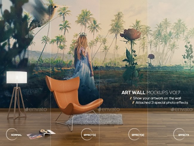 Art Wall Mockups Vol 7