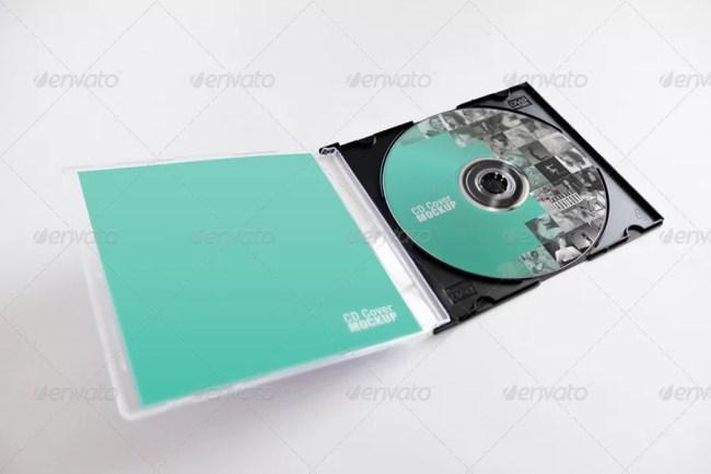 CD Cover Mockup