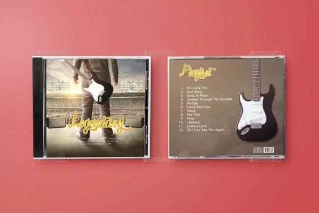 Disk & CD Cover Mockup