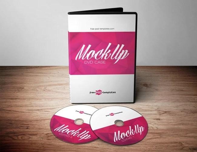 Free DVD Mockups