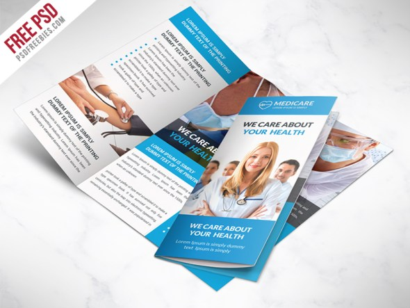medical brochure template - 65 print ready brochure templates free psd indesign ai