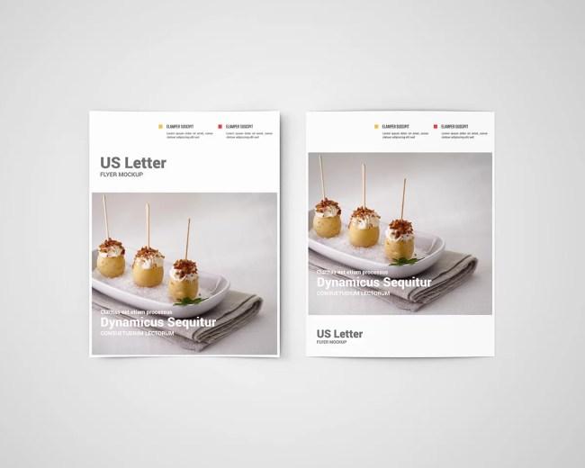 US Letter Flyer Mockup