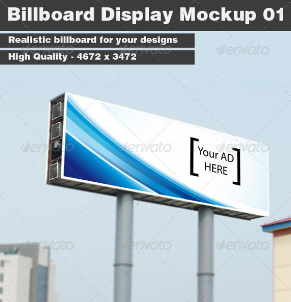 Billboard Display Mockup 01
