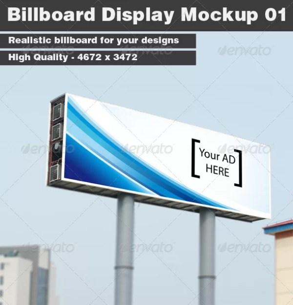 Billboard Display Mockup 01