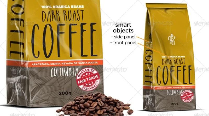 best coffee bag mockups