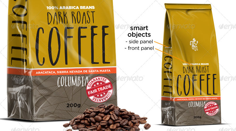 best coffee bag mockups
