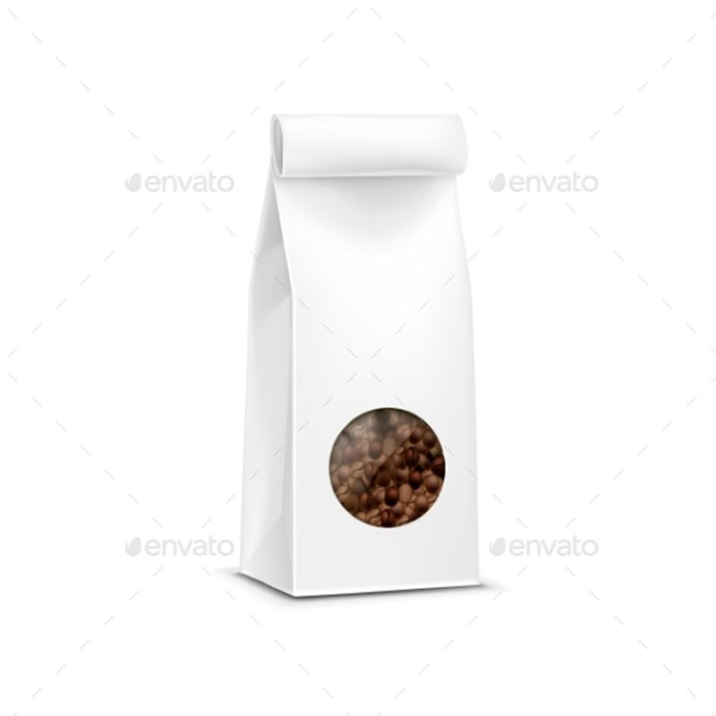 12 coffee bag mockups and templates for the graphic designer