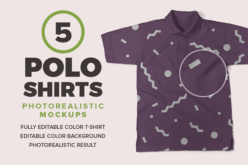 great polo shirt mockups premium psd