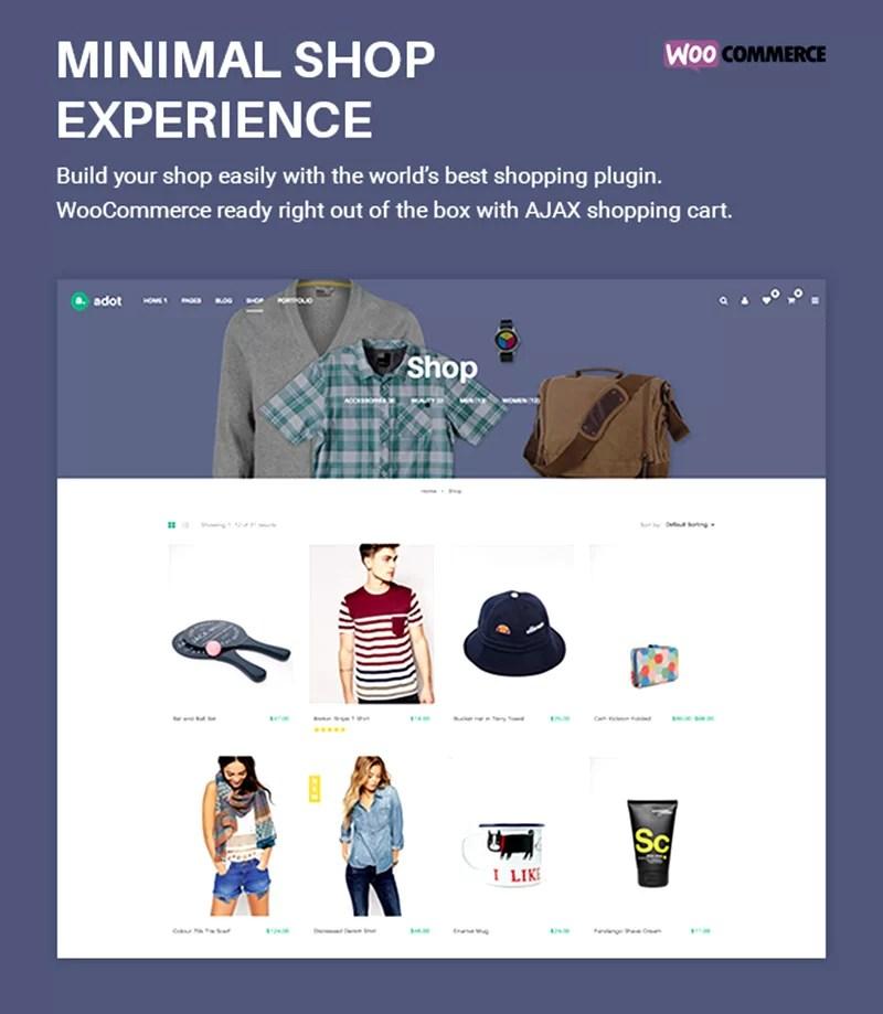 cool premium wordpress eCommerce theme